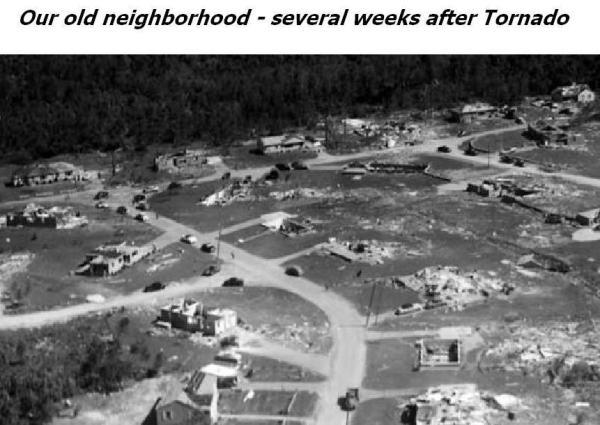 TORNADO - Worcester County, Massachusetts  1953  - Our Old Neighborhood