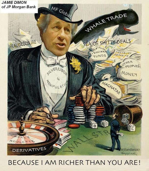 JAMIE_DIMON___JP_MORGAN_CEO__ZeroHedge-com__CARTOON__1-25-2014_CAP