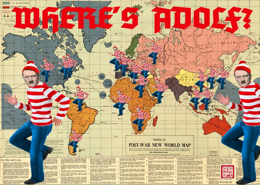Where's Adolph?  FASCISM Throughout the World