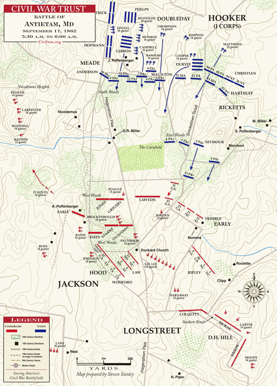 reasons for and consequences of the battle of antietam fought on september 17 1862 The civil war battle of antietam when: september 17-18, 1862 where: up until the battle of antietam the confederate army had been primarily on the defensive.