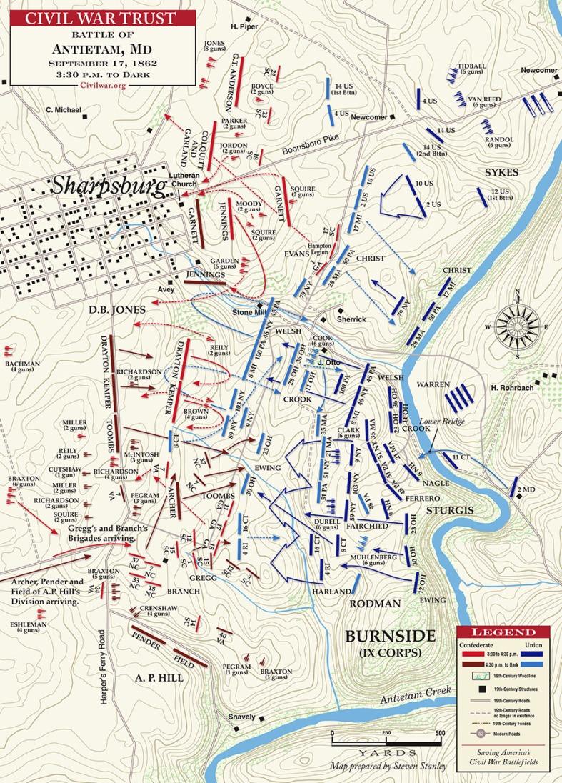 Antietam__Final_Assault__3-30PM_to_Dark___MAP_1