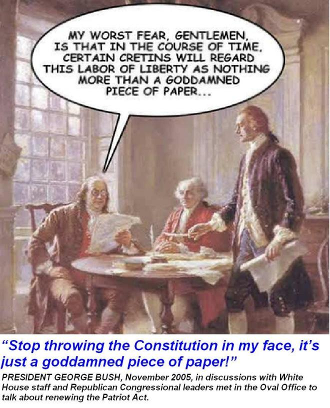 benjamin_franklin__constitution_not_a_god-damned_piece_of_paper_cap_bush_#2_quote